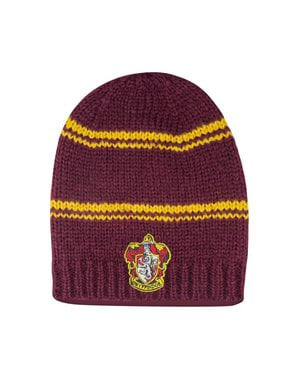 Maroon Gryffindor slouchy beanie hat - Harry Potter