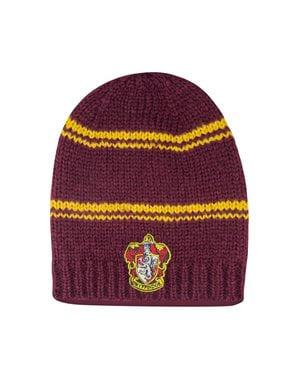 Maroon Gryffindor slouchy beanie hatt - Harry Potter