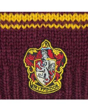 Volná pletená čepice Nebelvír vínová - Harry Potter