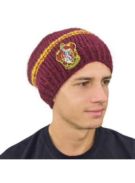 Gorro slouchy beanie de Gryffindor burdeos - Harry Potter - barato