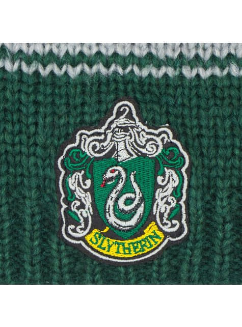 Slytherin slouchy beanie hat - Harry Potter