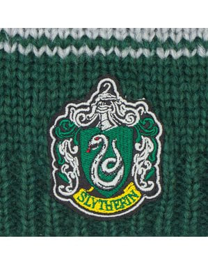 Harry Potter Slytherin slasket beanie hat