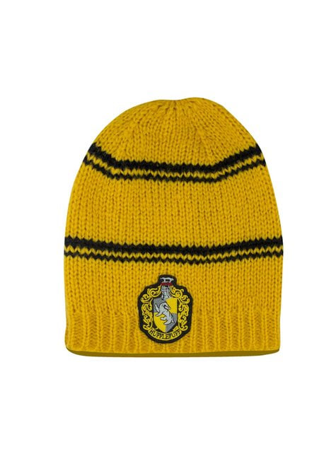 Hufflepuff slouchy beanie hat - Harry Potter