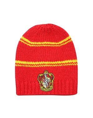Red Gryffindor slouchy beanie hat - Harry Potter