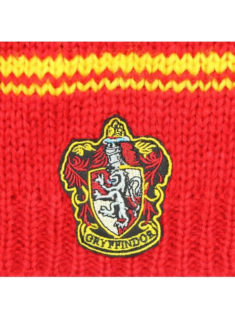 Gorro slouchy beanie de Gryffindor rojo - Harry Potter - oficial