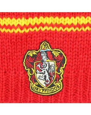 Gorro slouchy beanie de Gryffindor vermelho - Harry Potter