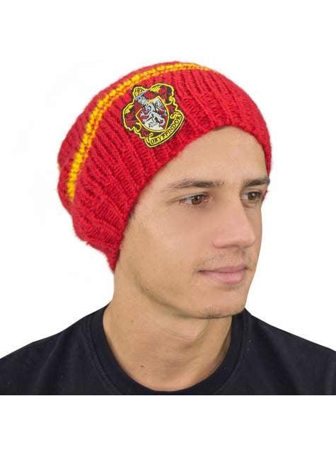 Gorro slouchy beanie de Gryffindor rojo - Harry Potter - barato