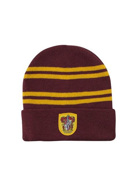 Pack de gorro y guantes Gryffindor infantil - Harry Potter - oficial