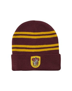 Harry Potter Gryffindor hat og handske sæt til børn