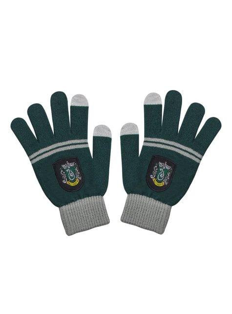Pack de gorro y guantes Slytherin infantil - Harry Potter - oficial