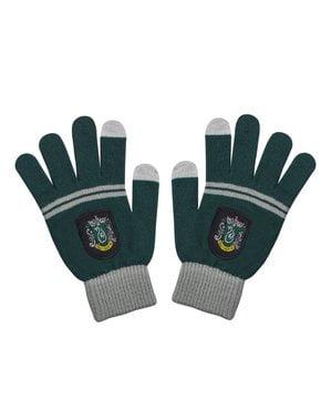 Pack căciulă și mănuși Slytherin pentru copii - Harry Potter