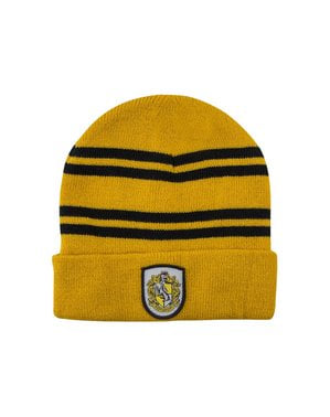 Hufflepuff beanie hat and gloves set for kids - Harry Potter