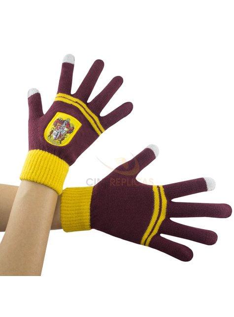 Rękawiczki dotykowe Gryffindor haftowana - Harry Potter