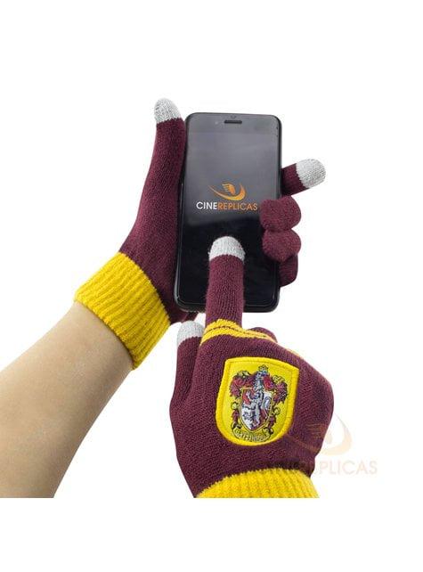 Guantes táctiles Gryffindor burdeos - Harry Potter - comprar