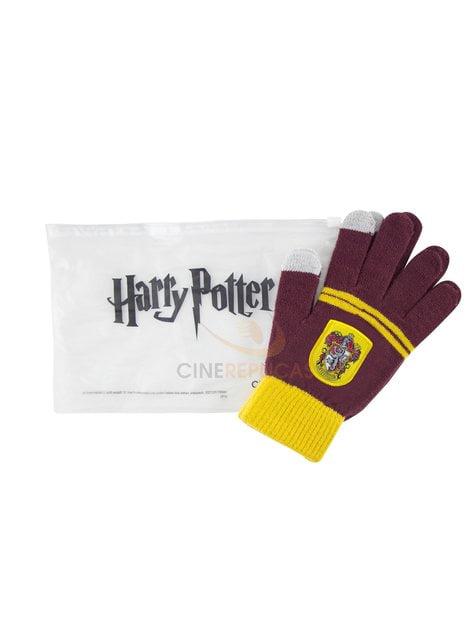 Guantes táctiles Gryffindor burdeos - Harry Potter - el más divertido