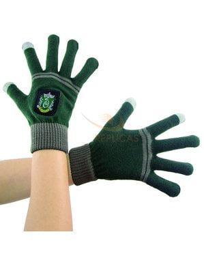 Slytherin tactile gloves - Harry Potter