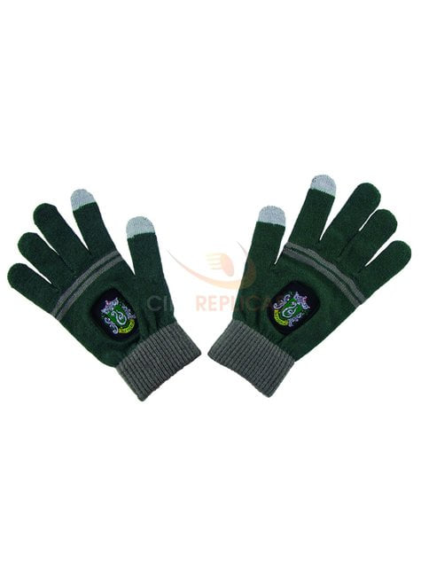 Guantes táctiles Slytherin - Harry Potter - oficial