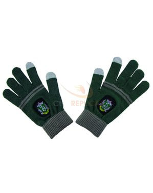 Slytherin tactile gloves - Harry Potter
