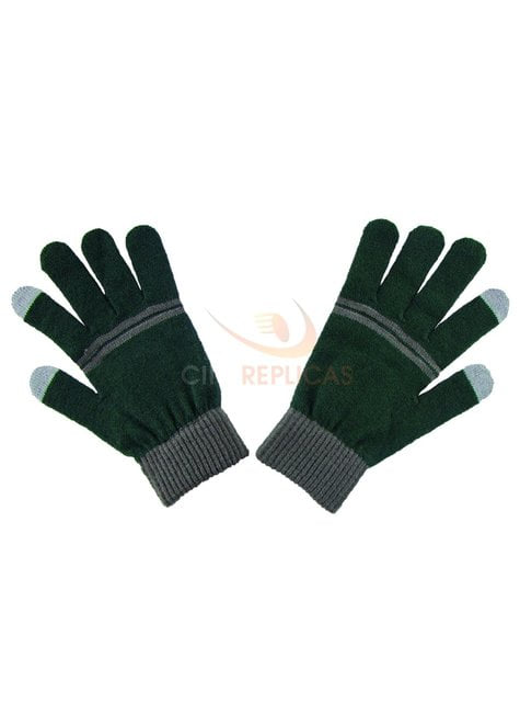 Guantes táctiles Slytherin - Harry Potter - barato