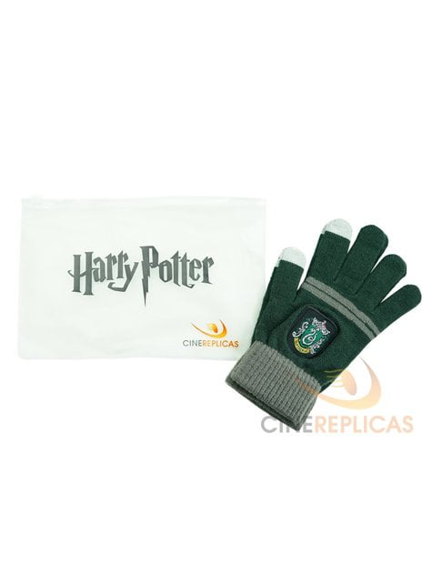 Guantes táctiles Slytherin - Harry Potter - el más divertido