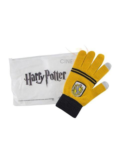 Guantes táctiles Hufflepuff - Harry Potter - el más divertido