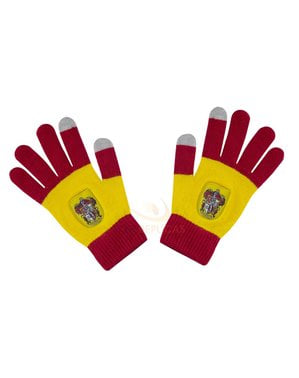 Red Gryffindor tactile gloves - Harry Potter