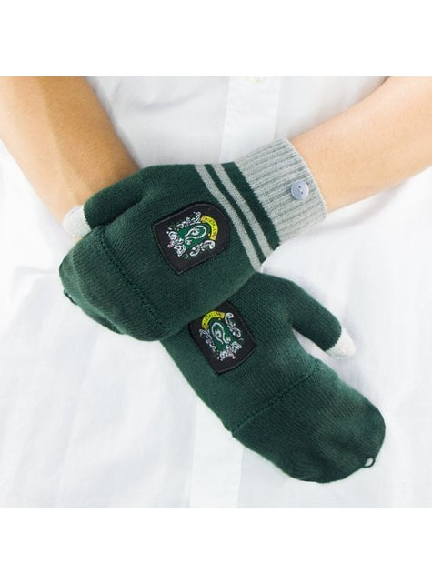 Slytherin mittens - Harry Potter