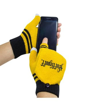 Hufflepuff mittens - Harry Potter