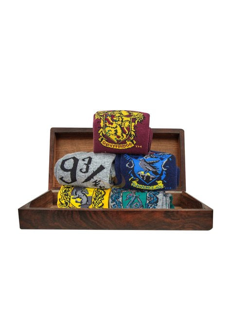 Pack de 5 calcetines talla única - Harry Potter