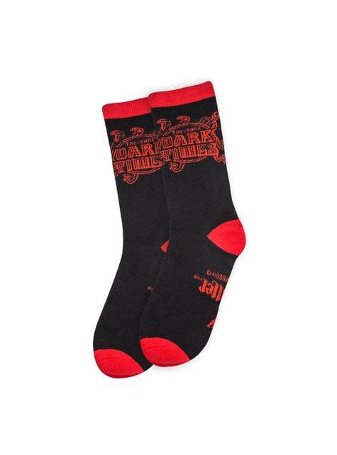 Pack de 3 calcetines Harry Potter Artes Oscuras - oficial