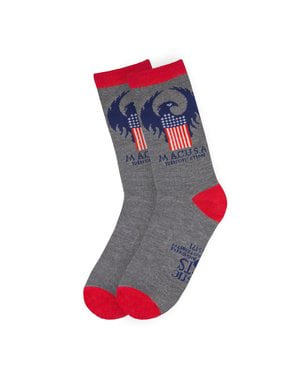 Pack of 3 Fantastic Beasts MACUSA socks