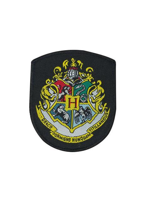 Pack de 5 parches Casas Hogwarts - Harry Potter - oficial