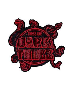 Pack de 3 parches Harry Potter Artes Oscuras