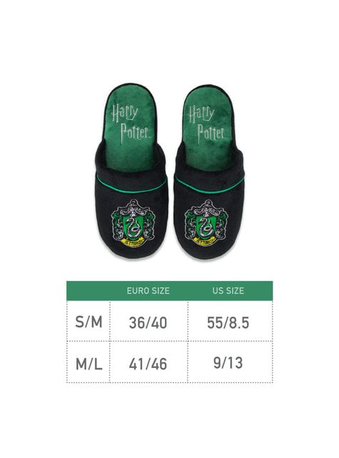 Zapatillas de estar por casa Slytherin