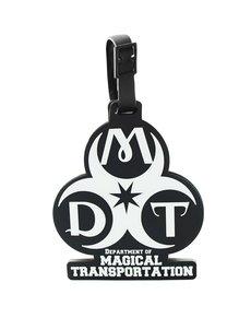 Etiqueta de bagagem Departamento de Transporte Mágico - Monstros  Fantásticos ... becbf326323