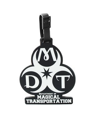 Fantastic Beasts Department of Magical Transport luggage identity tag