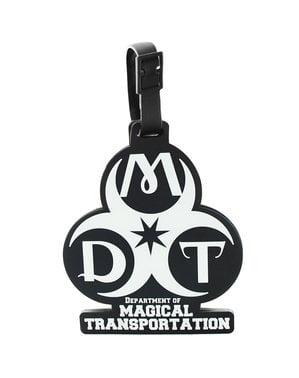 Identifikační štítek na zavazadla Fantastická zvířata Oddělení pro kouzelnou dopravu