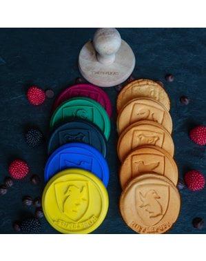 Conjunto de 5 selos para pastelaria Harry Potter