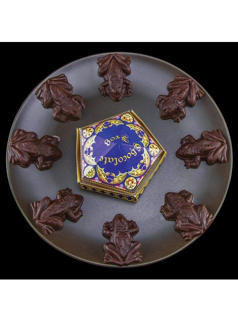 Molde rãs de chocolate e caixas forma - Harry Potter