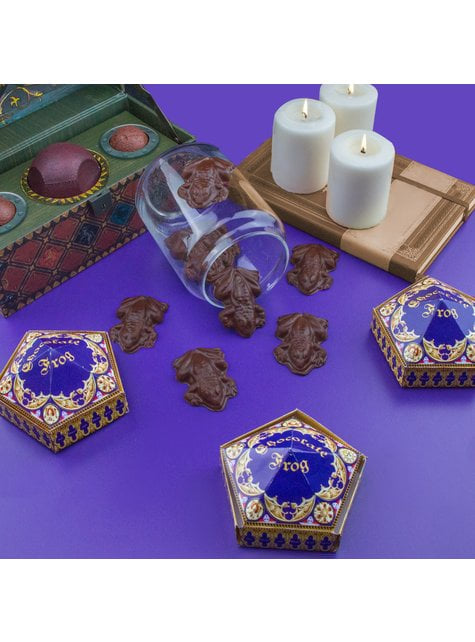 Chocolate Frogs mould and packaging boxes - Harry Potter