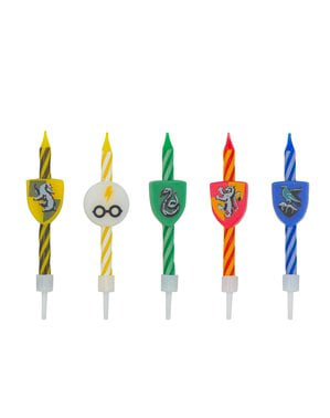 Bougies anniversaire Harry Potter