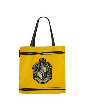 Saco de tecido (tote bag) Hufflepuff - Harry Potter