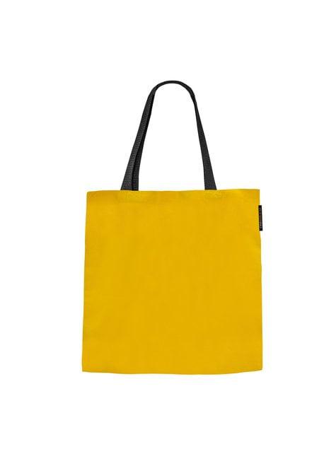 Bolso de tela (tote bag) Hufflepuff - Harry Potter  - oficial
