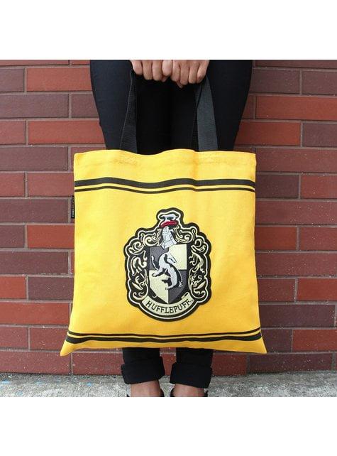 Bolso de tela (tote bag) Hufflepuff - Harry Potter  - barato