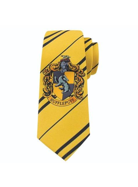 Gravata Hufflepuff para menino - Harry Potter