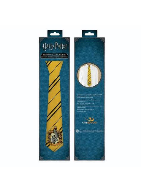 Corbata Hufflepuff para niño - Harry Potter - barato