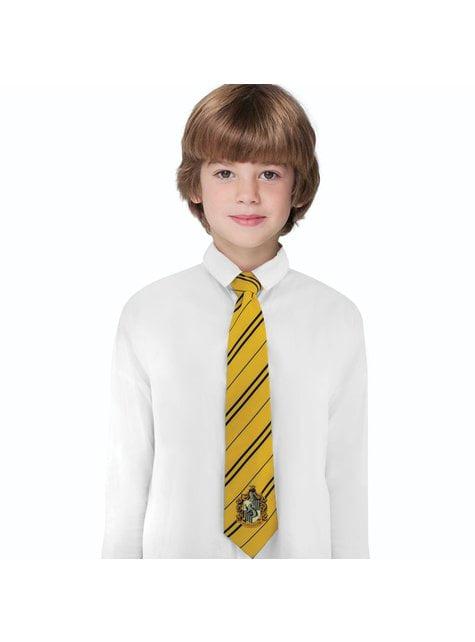 Corbata Hufflepuff para niño - Harry Potter - comprar