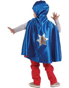 Capa reversible heroica para niño Capa reversible heroica para niño bc58be18af3