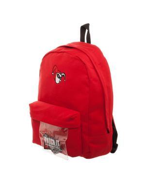 Plecak Harley Quinn czerwony