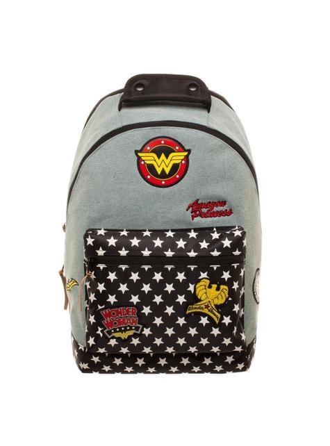 Denim Wonder Woman ruksak s flasterima
